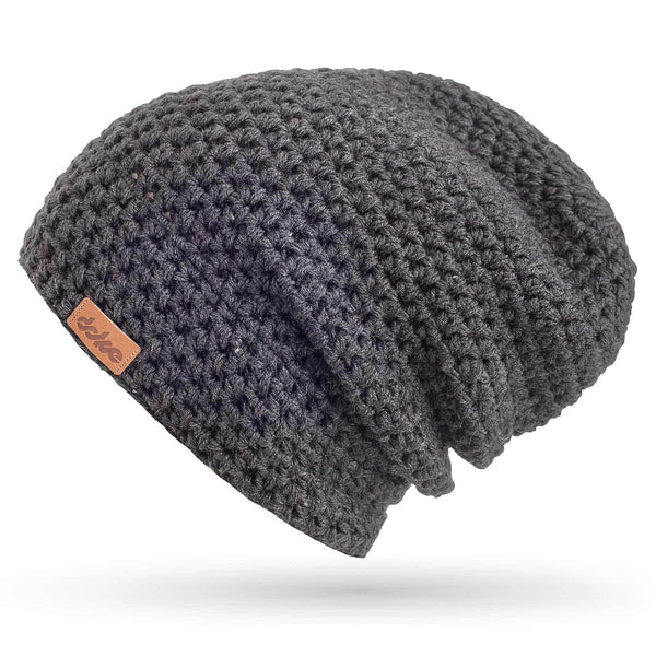 richard-woox.myshopify.com MERINO CROCHETED BEANIE ANTRACIT