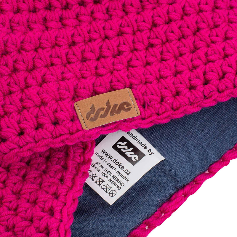 richard-woox.myshopify.com MERINO CROCHETED BEANIE pink striped