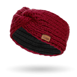 richard-woox.myshopify.com KNITTED HEADBAND bordo