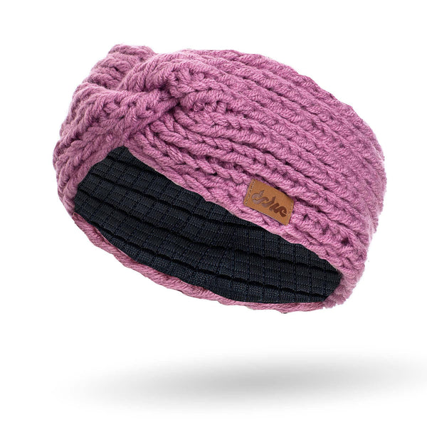 KNITTED HEADBAND lilac - richard-woox
