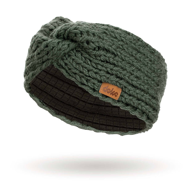 richard-woox.myshopify.com KNITTED HEADBAND olive