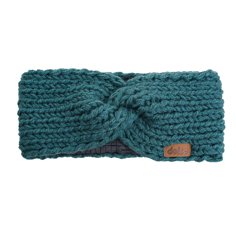 KNITTED HEADBAND pine - richard-woox