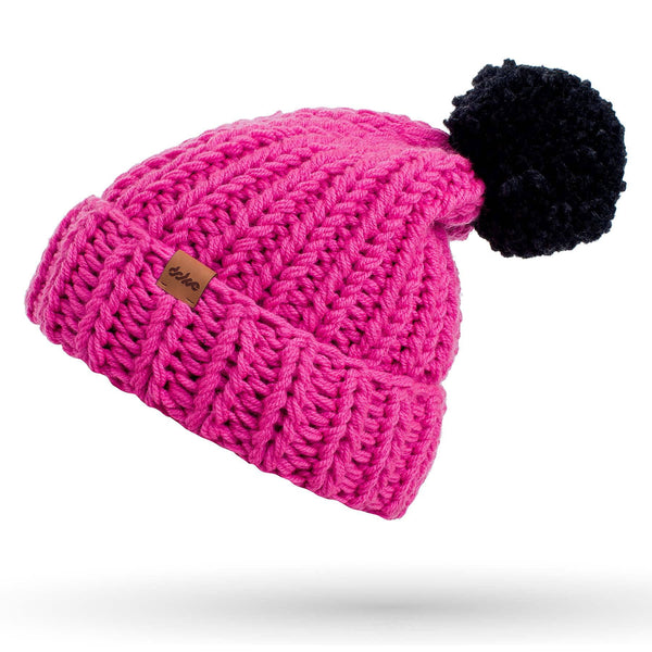 KNITTED BEANIE candy - richard-woox