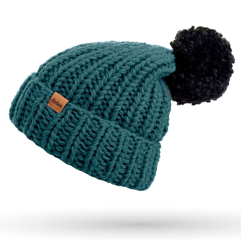 KNITTED BEANIE pine - richard-woox