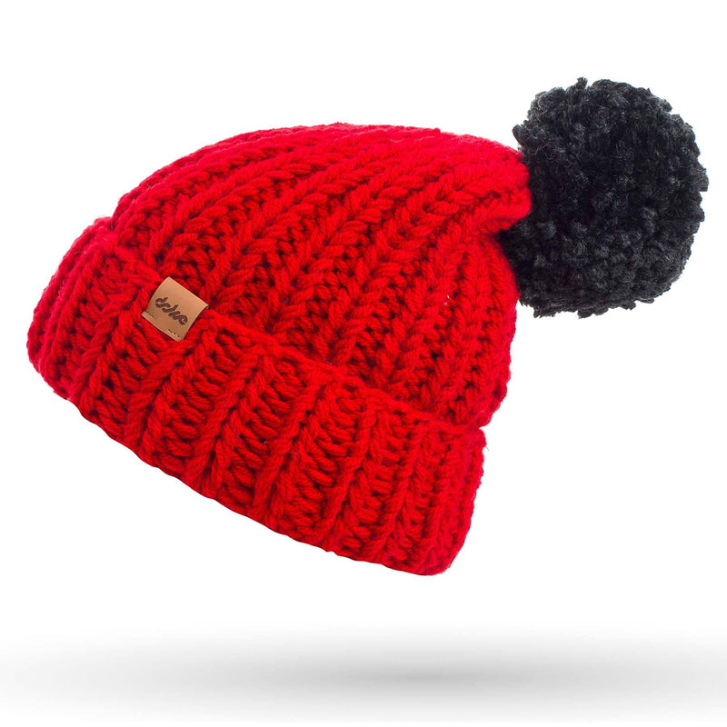 richard-woox.myshopify.com KNITTED BEANIE red