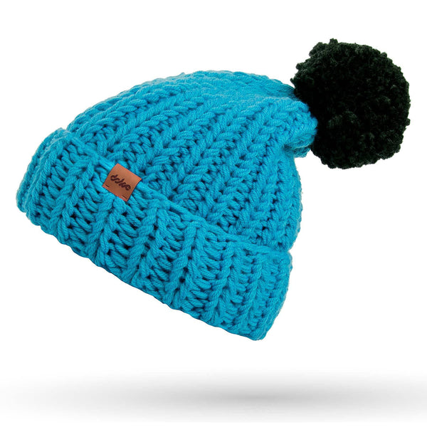 knitted beanie sky - richard-woox
