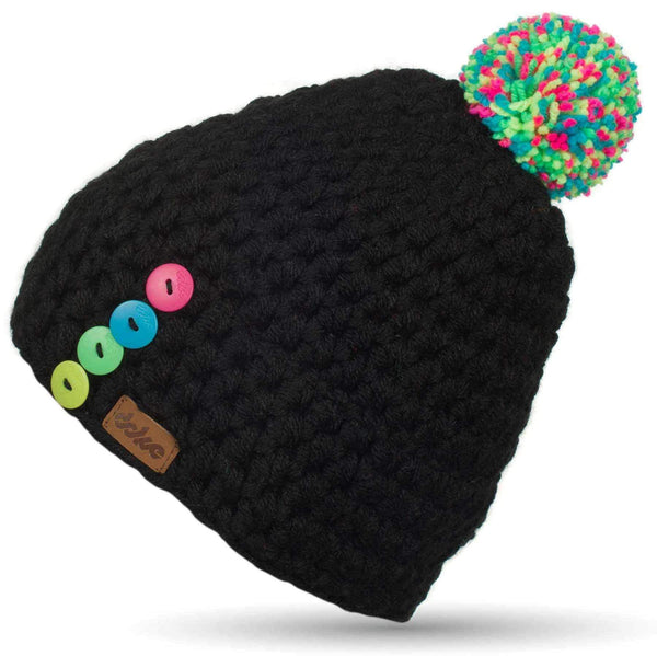 Crocheted Pom Beanie bc - richard-woox
