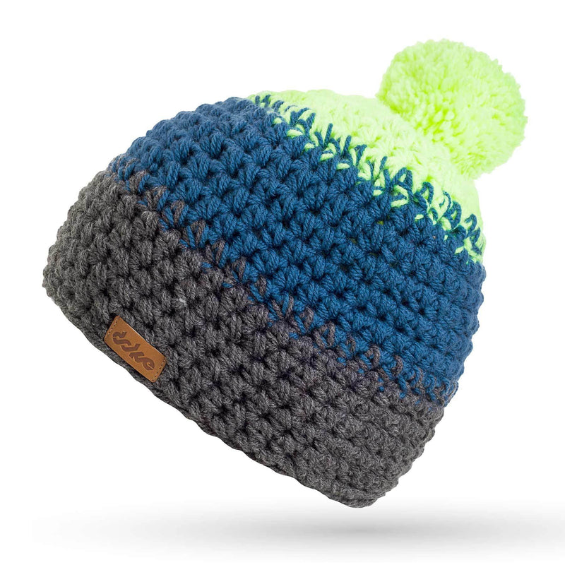CROCHETED POM BEANIE bill - richard-woox