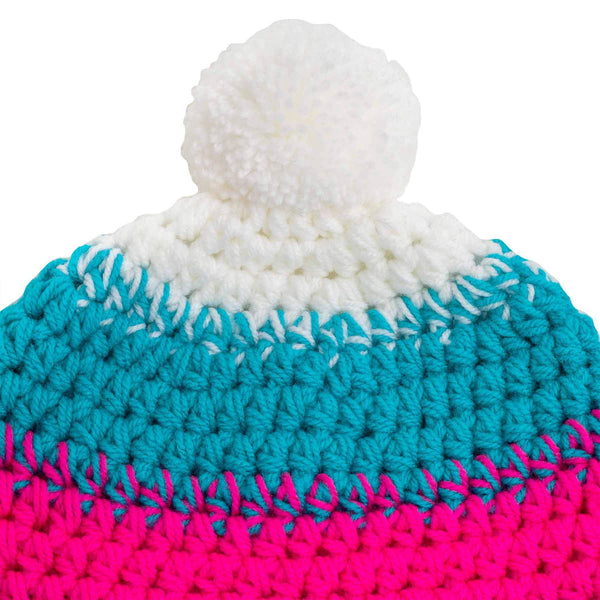 richard-woox.myshopify.com CHILDREN'S CROCHETED POM BEANIE tina