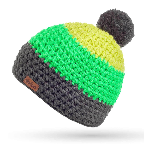 CROCHETED POM BEANIE toby - richard-woox