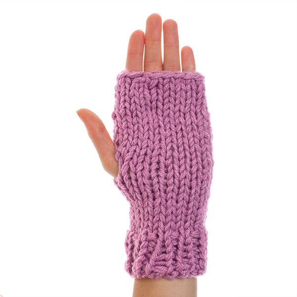 richard-woox.myshopify.com KNITTED HAND WARMER lilac