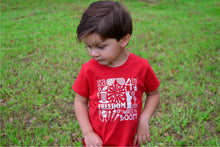 4TH OF JULY COLLAGE Youth Summer T Shirt