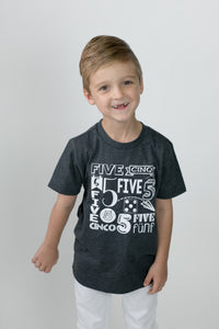 5th  BIRTHDAY-MY YEAR BOYS Children's T Shirt
