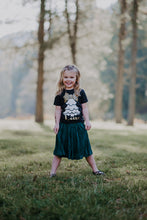 CHRISTMAS TREE WITH LEOPARD BOW PERSONALIZED Children's T Shirt