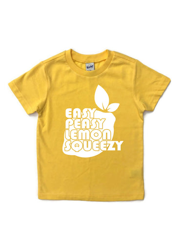 EASY PEASY LEMON SQUEEZY Youth T Shirt