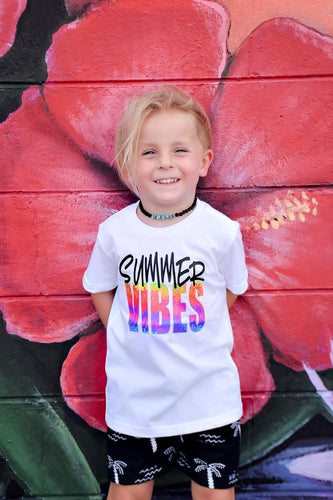 SUMMER VIBES Youth Summer T Shirt