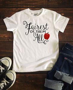 FAIREST OF THEM ALL Youth Disney T Shirt