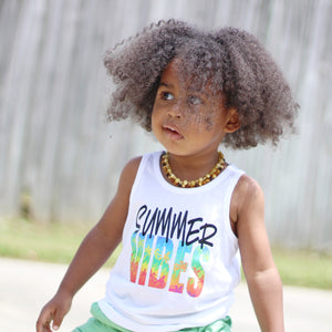 SUMMER VIBES Children's Summer Tank