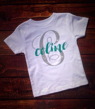 GLITTER NAME Youth T Shirt