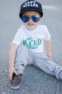 Mr. Lucky Charm Boys St. Patrick's T Shirt