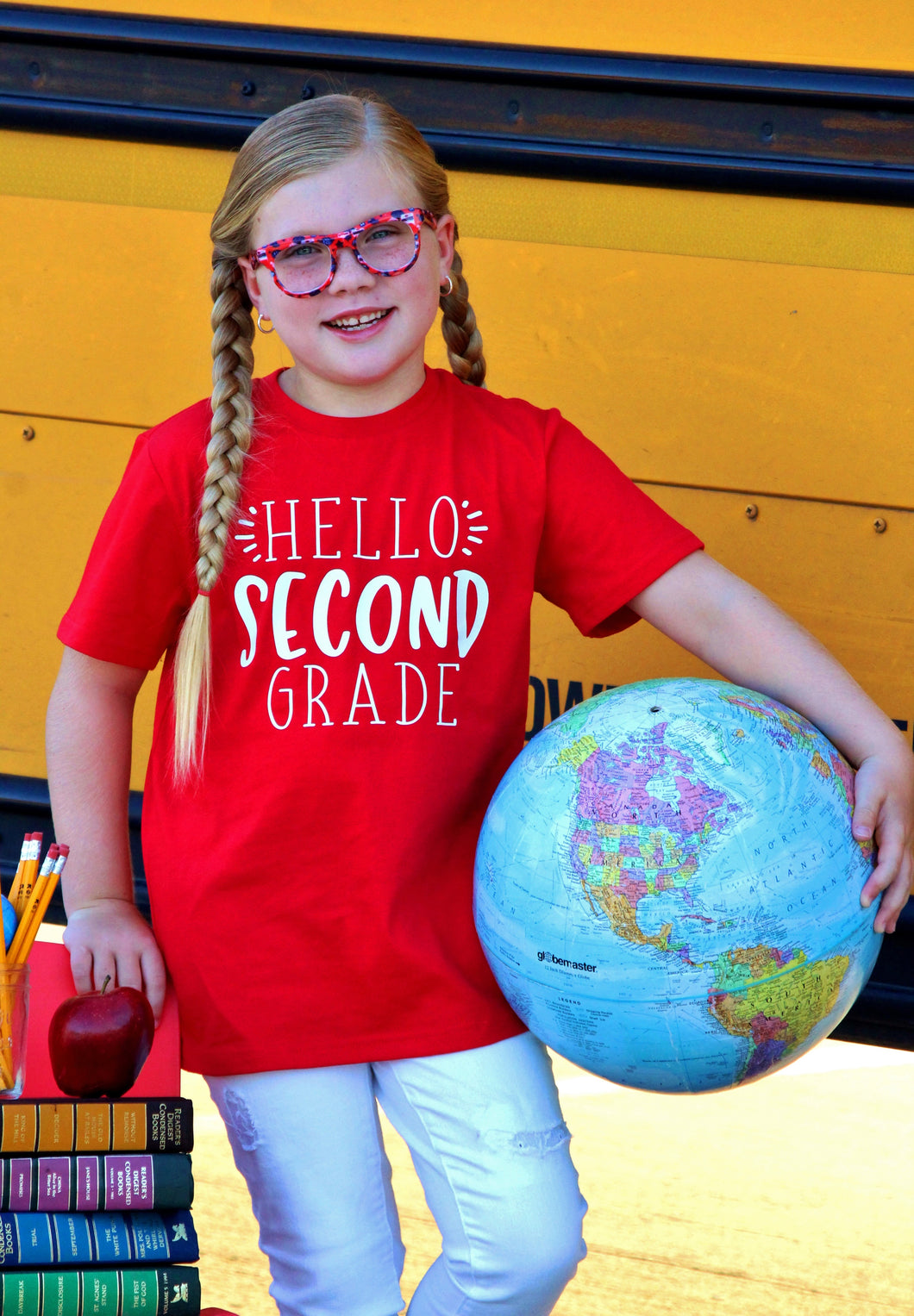HELLO 'SECOND' SCHOOL Youth T Shirt