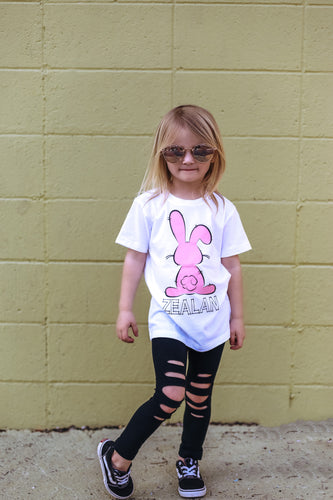 DOODLE BUNNY Youth Easter T Shirt