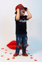 HEART PERSONALIZED Boy Youth Valentine T Shirt