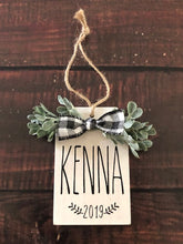 WOODEN ORNAMENT PERSONALIZED