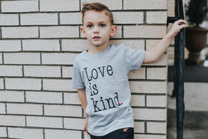 LOVE IS KIND. Youth Valentine T Shirt