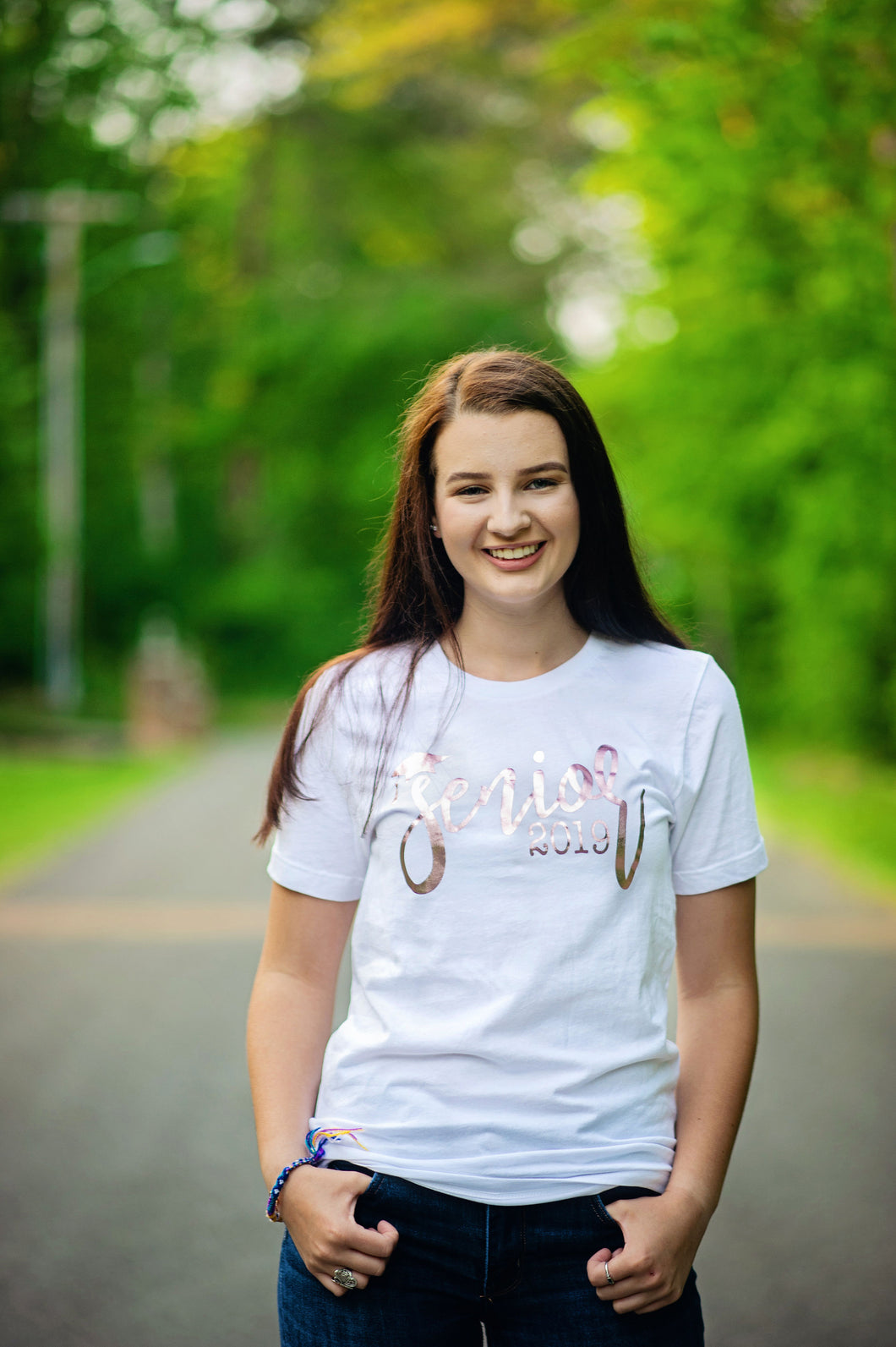 SENIOR 2019/2020...Young Adult T Shirt (White)