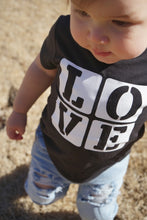 LOVE BLOCKS Youth Valentine T Shirt