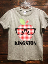 APPLE PERSONALIZED-GRAY Youth T Shirt