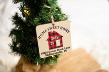 HOME SWEET HOME Wooden Christmas Ornament Collection