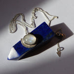 Moonstone Shield Pendant