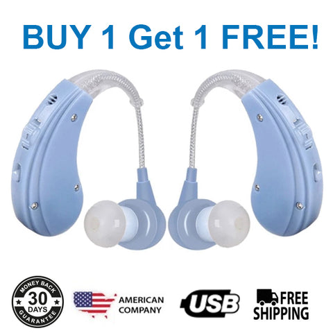 🔥Buy 1 Get 1 FREE Sale! CRYSTAL CLEAR X11 BTE HEARING AID - FREE SHIPPING!