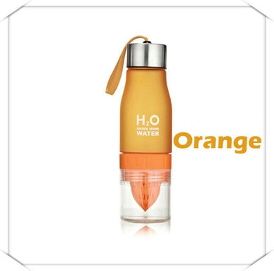 Orange Beauty Water Bottle