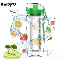 Green Detox Water Bottle & Fruit Infuser