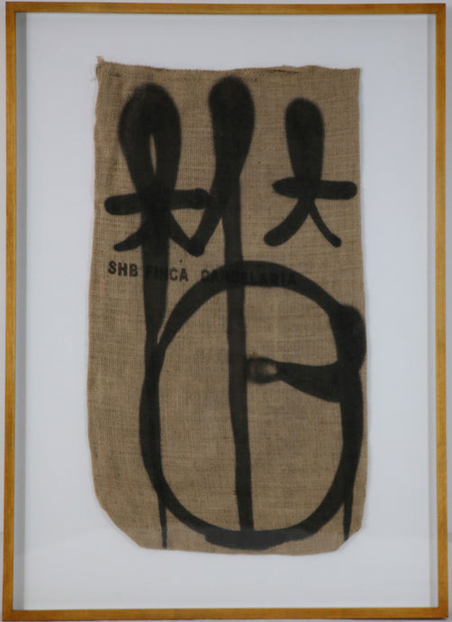 RETNA - Tag on Coffee Sack #1