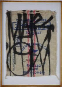 RETNA - Tag on Coffee Sack #3