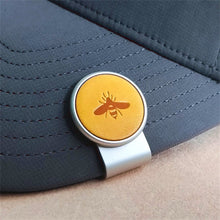 Load image into Gallery viewer, Bee - Silver Clip - birdea golf ball marker