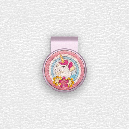 Color Unicorn - Rose Gold Clip - birdea golf ball marker