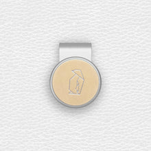 Load image into Gallery viewer, Penguin - Silver Clip - birdea golf ball marker