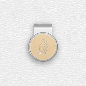 Penguin - Silver Clip - birdea golf ball marker