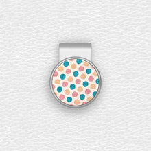 Load image into Gallery viewer, Color Dots - Silver Clip - birdea golf ball marker