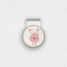 Load image into Gallery viewer, Cute Rabbit - Silver Clip - birdea golf ball marker