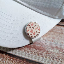 Load image into Gallery viewer, Rose Pattern - Silver Clip - birdea golf ball marker