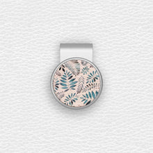 Load image into Gallery viewer, Floral Pattern - Silver Clip - birdea