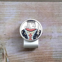 Load image into Gallery viewer, King Poker Card - Silver Clip - birdea golf ball marker