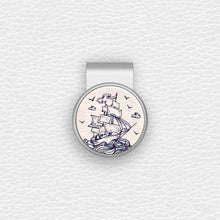 Load image into Gallery viewer, Sailboat - Silver Clip - birdea golf ball marker