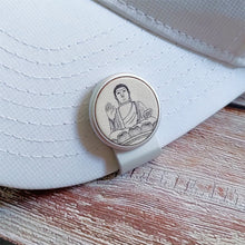 Load image into Gallery viewer, Buddha - Silver Clip - birdea golf ball marker